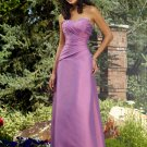Designer Long Purple Sweetheart Cocktail Dress Evening Dress Prom Bridesmaid Wedding