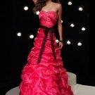 Elegant Sweetheart Strapless Empire Waist Mermaid Evening Dress Cocktail Prom Bridesmaid Wedding A2