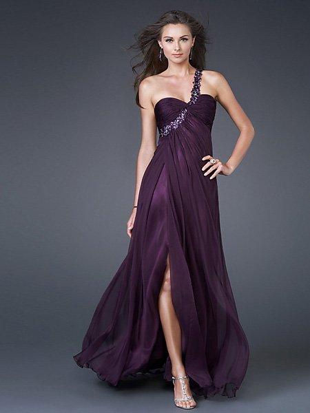 A2 Hot Sale Elegant Hunter One Strap Sweetheart Evening Dress Cocktail Prom Bridesmaid Wedding