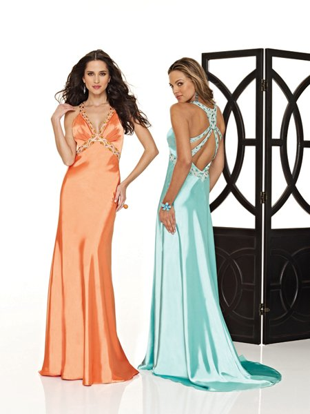 Hot Sale Elegant Tracery V Neck Empire Waist Evening Dress Cocktail Prom Bridesmaid Wedding
