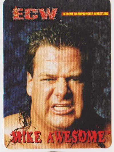 ECW Trading Card - Mike Awesome