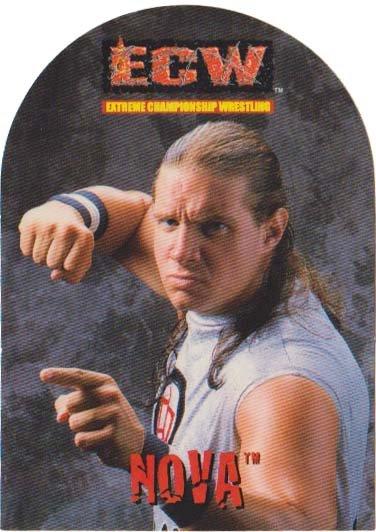 ECW Trading Card Sticker - Nova
