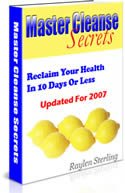 The Master Cleanse Diet Book
