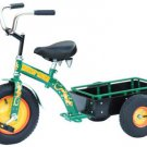 Morgan Cycle Pick-up Ranch Tricycle Ride on Toy With Wooden Bed & All-terrain Tire