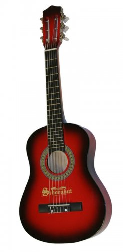Schoenhut  Acoustic Guitar & Carrying Bag W 6 Steel Strings 605rb