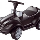 Black Benz Push Along Kids Ride On Car Toy Big Bobby Kids 1 yr & Up to 220Lbs