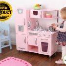 Girls Pink Vintage Kitchen Pretend Play Toy For Kids 3+ By KidKraft 53179