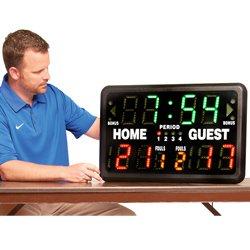 Multisports Portable Electronic Scoreboard & Remote SK2229R
