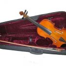 Violin With Carrying Case Size 4/4 Great For Student
