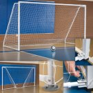 Indoor Soccer Goal Portable & Foldable with Non-marking floor pads
