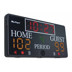 Electronic 4 x 2 Indoor Scoreboard with Remote and SK3048 By MacGregor New