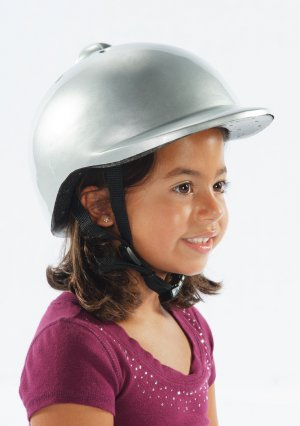 Morgan Cycle Bicycle Helmet Silver for age group 3-6yrs old