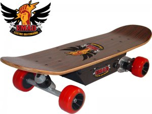 EMAD 150W ELECTRIC SKATEBOARD 3 SPEED SYSTEM WITH WIRELESS HANDHELD REMOTE