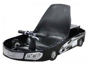 ScooterX Electric Power Kart 500w Black/Silver
