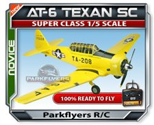 AT-6 Texan 500 Class Plane RTF RC Airplane