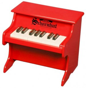 Schoenhut Red 18 Key My First Piano 1822R Kids Toy Musical instrument