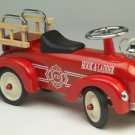 Kids Scoot Along Speedster Fire Truck Ride on Toy -