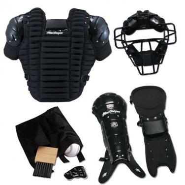 Baseball Full Umpire's Gear Mask Chest Protector Leg Guards & More