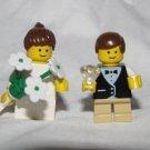 Lego RING BEARER & FLOWER GIRL Wedding Minifigs bride
