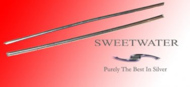 """Sweetwater Colloidal 1.5mm  5"""" 99.99 Pure Silver Wire Rods"""