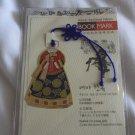 Traditional Korean Dress (Hanbok) Design Bookmark