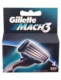 Gillette - Mach 3 (4 pack)
