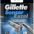 Gillette Sensor Excel  (10 Pack)