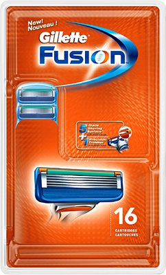 Gillette Fusion  (16 pack)