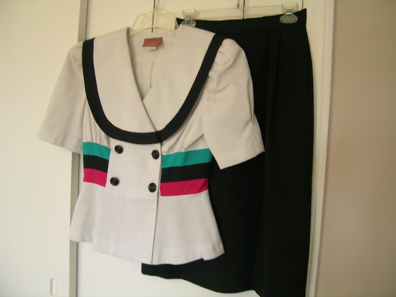 Worthington Ladies Skirt Suit Size 8 10