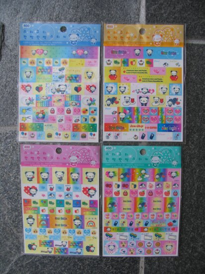 San-x Star Cutie one sticker sheet.