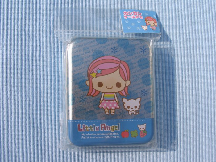 Kamio Little Angel memo pad with case.