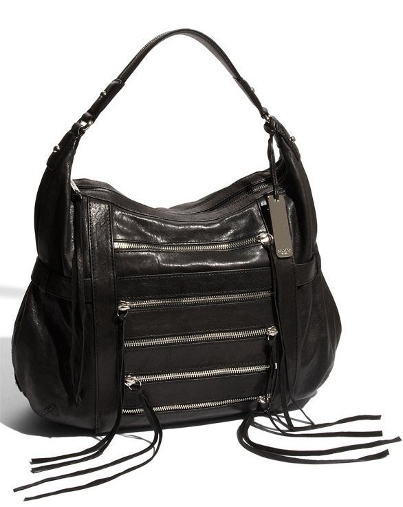 $595 Botkier VENICE Hobo Bag in Black NWT