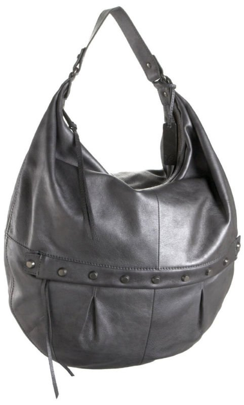 $575 Botkier SOPHIA Leather Hobo -Silver Powder NWT
