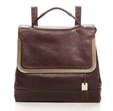 $635 Botkier MISHA Frame Flap Backpack -Burgundy NWT