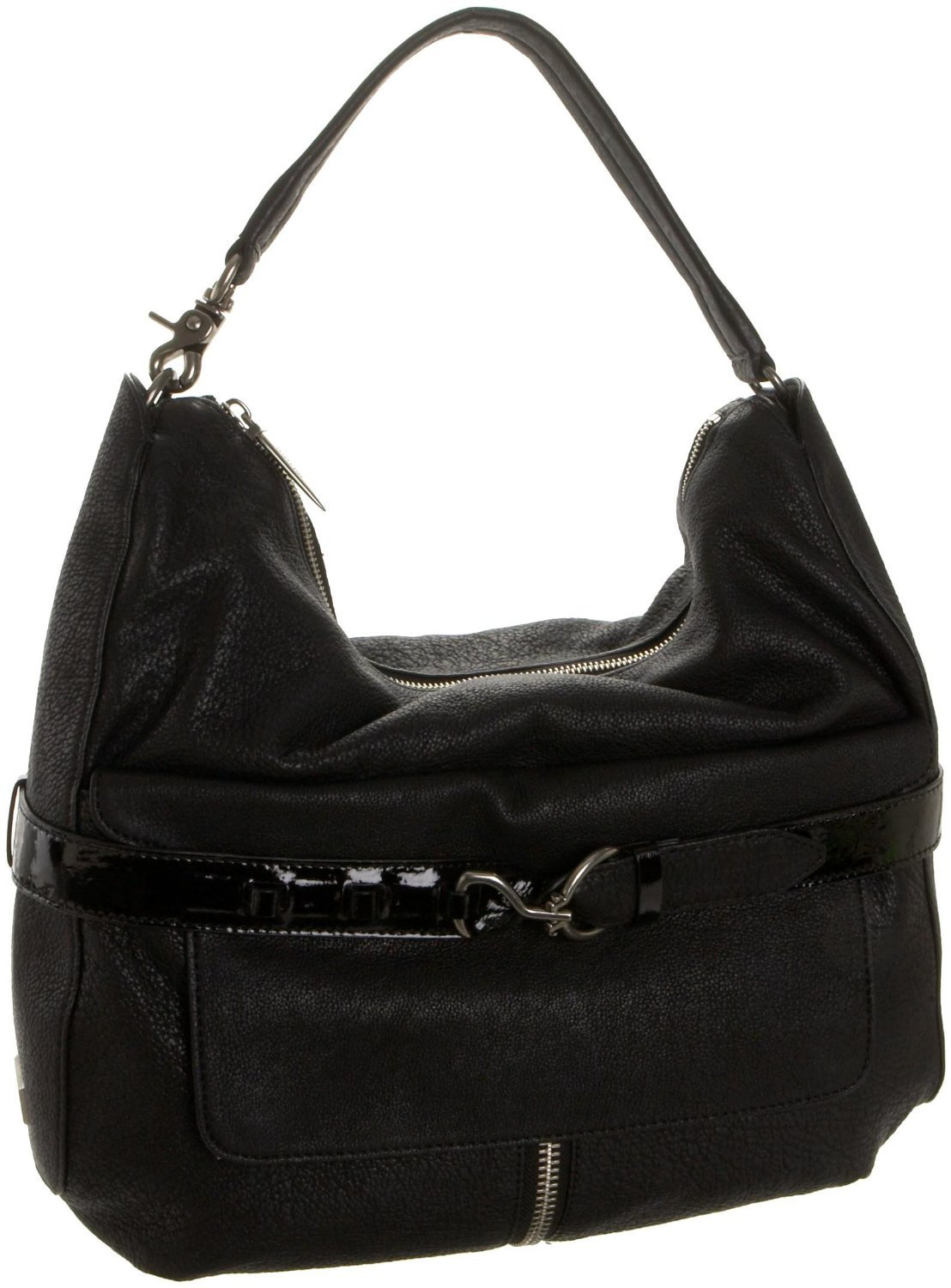 $545 Botkier APOLLO Hobo Bag - Black Cowhide NWT