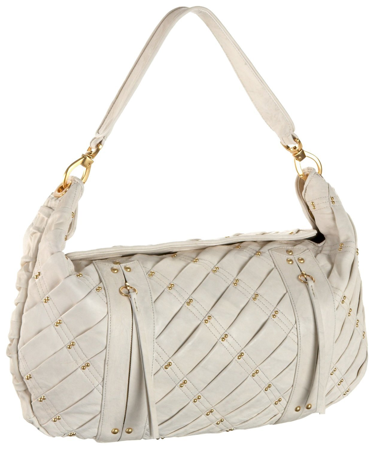 $698 -Treesje EXPOSED Hobo  Bag -in White NWT