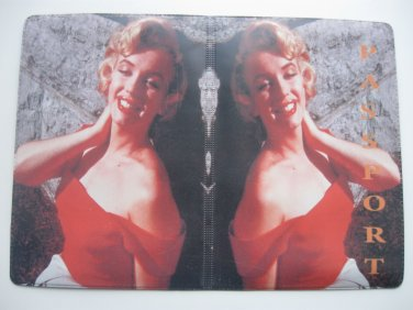 Vinyl Passport Cover / Marilyn Monroe / Personal Travel Case Holder / NEW / #4