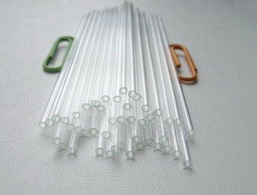 Glass Capillary Tubes lot of 50pcs New  * Length  75 mm * Outside Diameter  2 mm