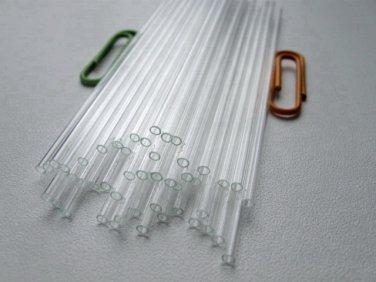 Glass Capillary Tubes lot of 50pcs New  * Length  90 mm * Outside Diameter  2 mm