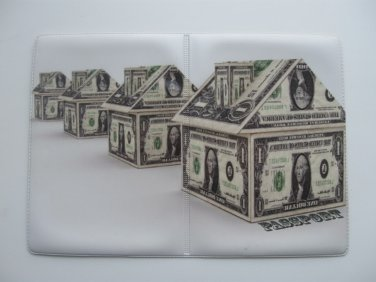 Vinyl Passport Cover / house of money / Personal Travel Case Holder / NEW