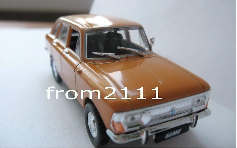 1 43 Deagostini IZ-2125 Moskvich Combi / mag 54 cars USSR / NEW model & magazin