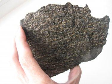 Rough Shungite Stone / Healing Crystal Karma Reiki  #912 758gr  Rare, Natural, Shungit, Schungit