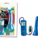 Sue Johanson Royal Waterproof Silicone Anal Massager Egg Bullet Vibrator NEW