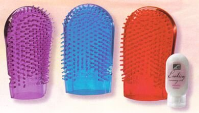 Jelly Massage Mitt and Massage Oil Kit SPECIAL Buy NEW