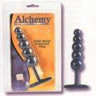 Medical Metal Alchemy Graduated Massager Plug NEW