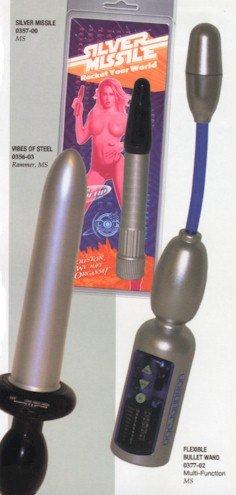 Flexible Bullet Wand Massager Vibrator NEW
