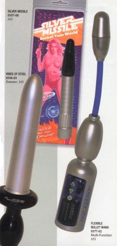 Flexible Bullet Wand Massager Vibrator NEW