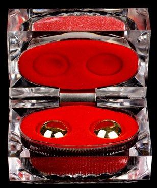 BenWa Gold Balls Crystal Display Box NEW