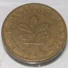 GERMANY 1949-J 5 Pfennig -- KM 102 -- beautiful AU/UNC