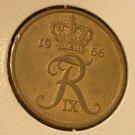 DENMARK 1966 5 Ore -- KM848.1 -- UNC